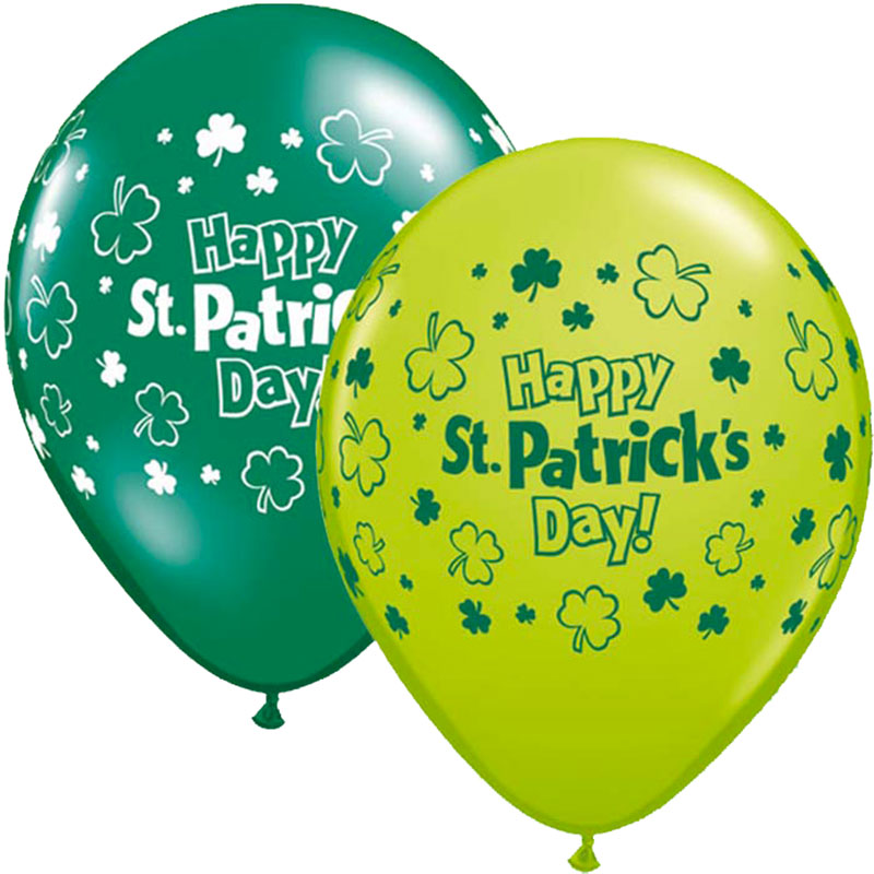 Ballon Happy St Patrick day par 25