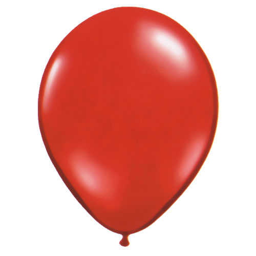 Ballon Rouge cristal (Ruby red)