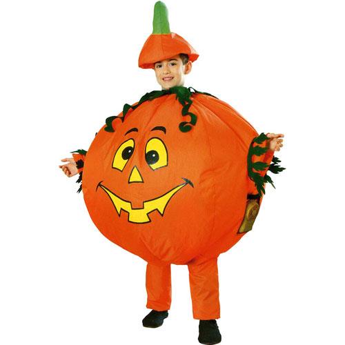 D guisement citrouille gonflable enfant halloween ballons gogo - Deguisement de citrouille ...