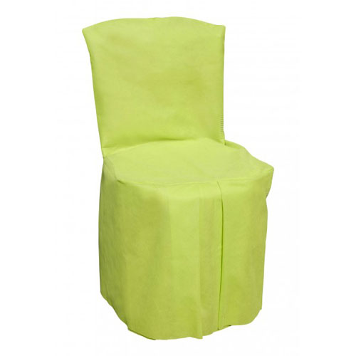 Housse de chaise vert tilleul par 5 ebay for Housse de chaise occasion