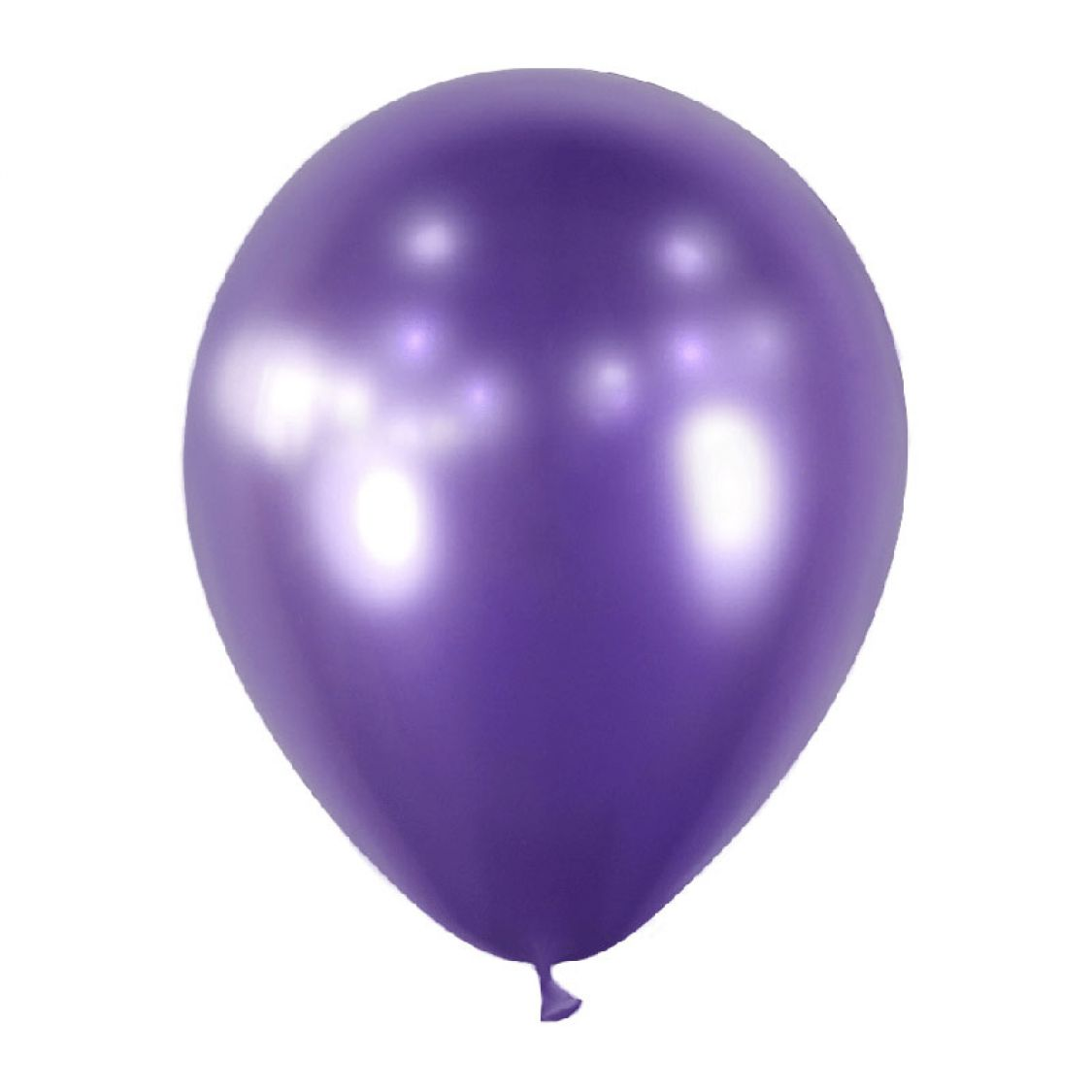 Ballon Violet Miroir Chrome