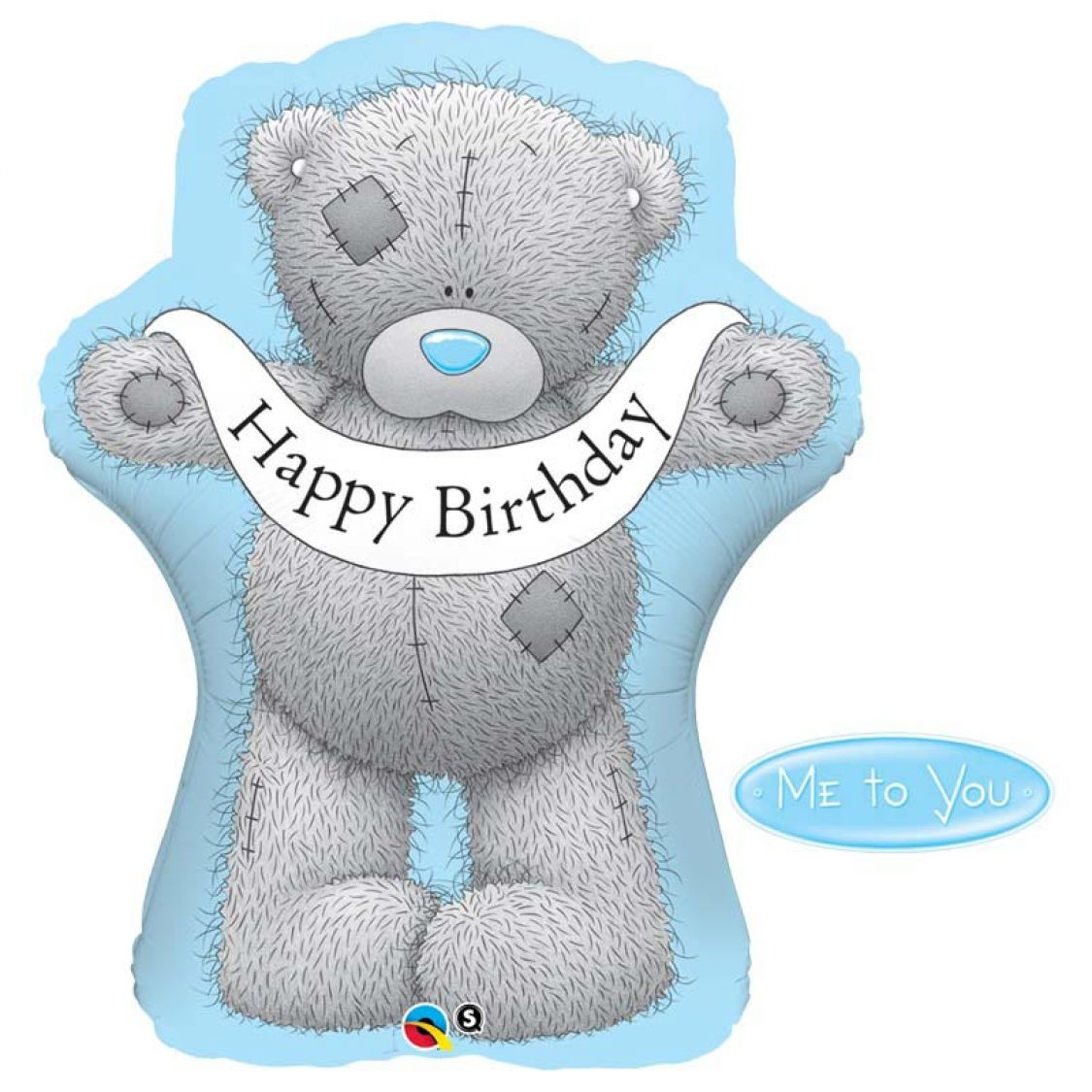 Ballon Happy Birthday Nounours Tatty Teddy