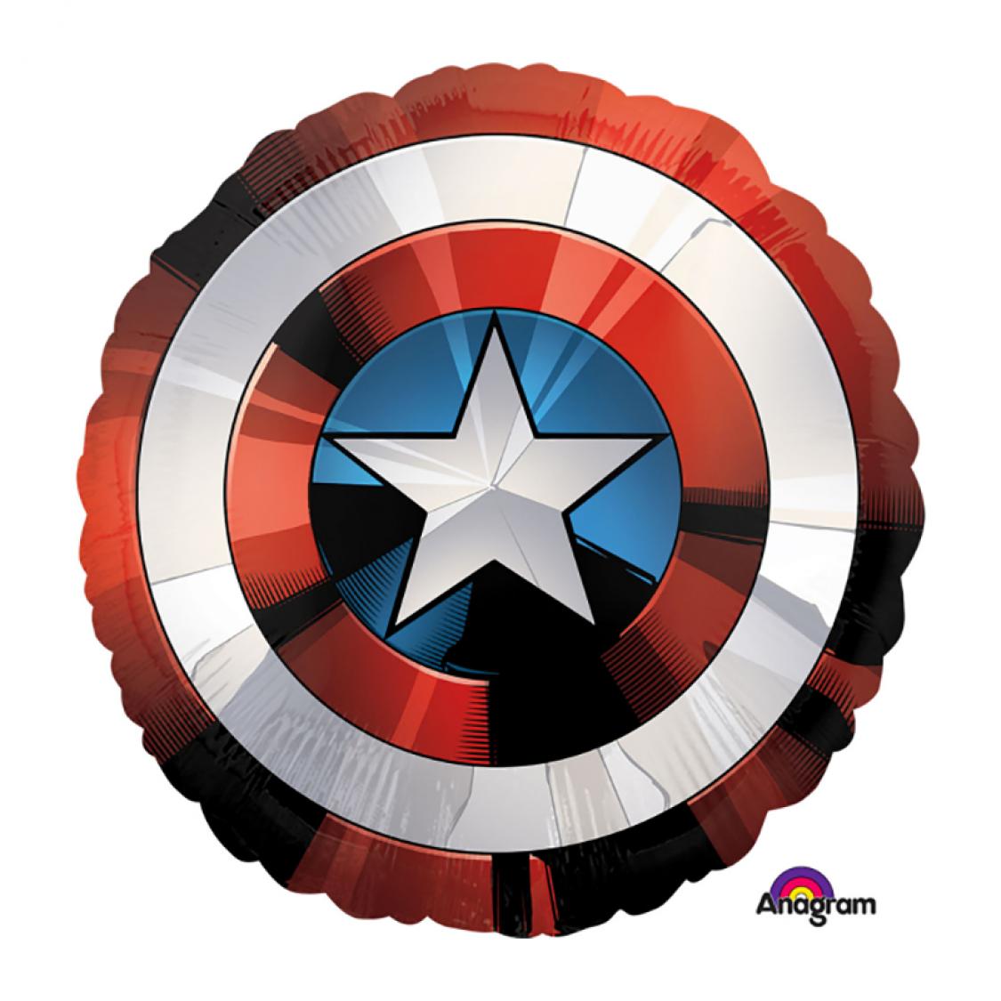 Ballon bouclier captain america - Bouclier capitaine america ...