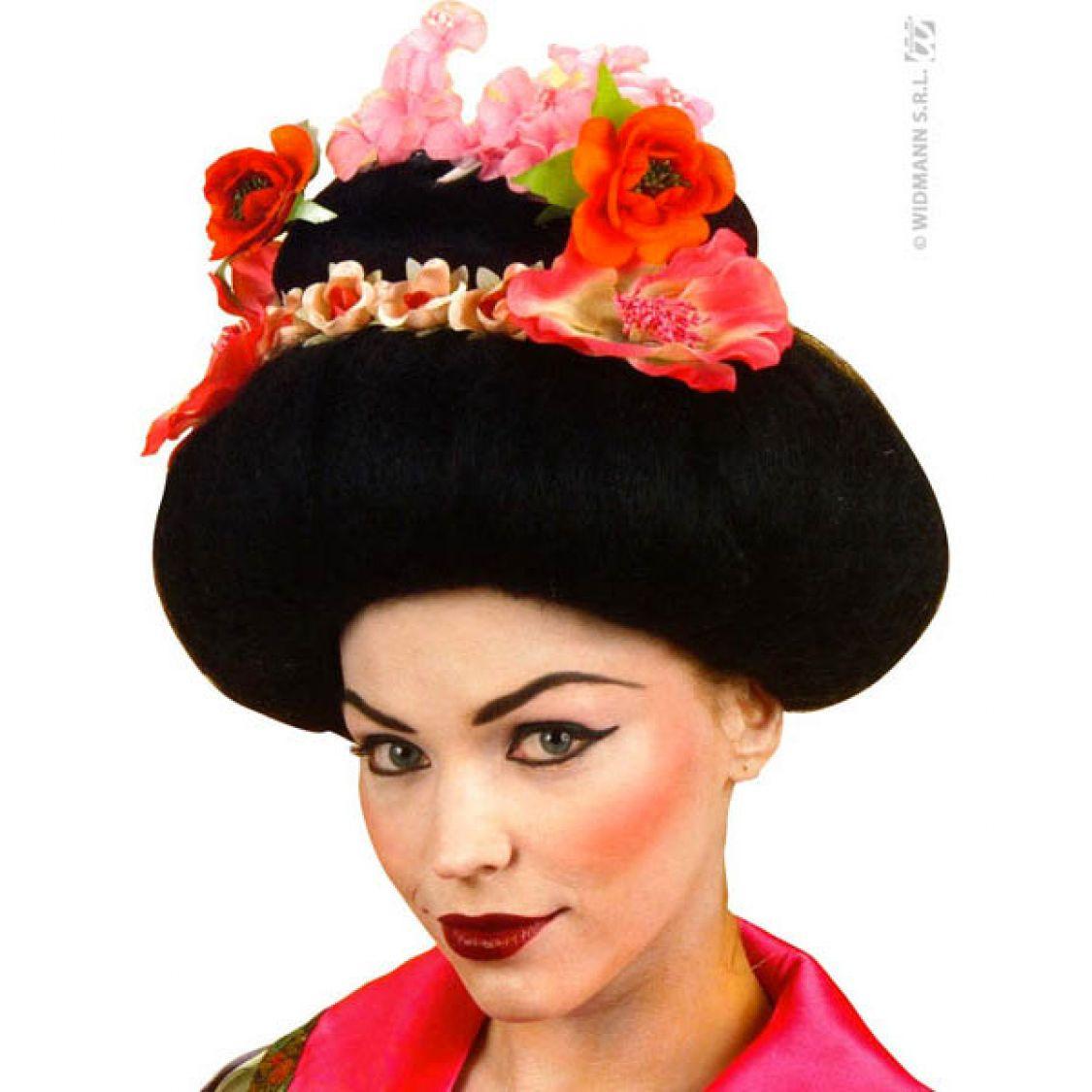 Perruque Geisha Luxe