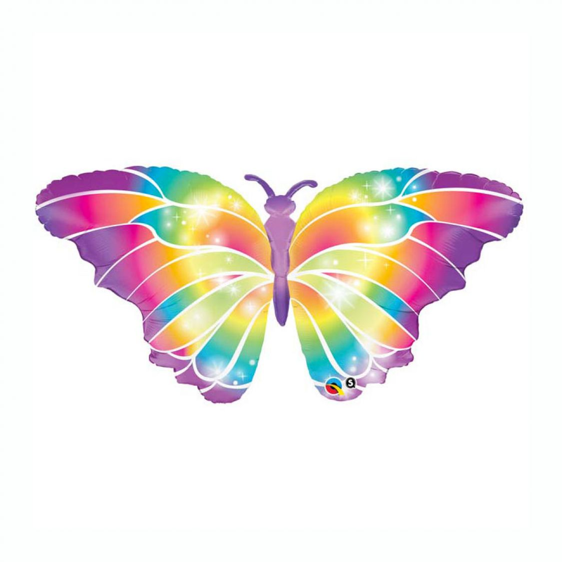 Ballon Papillon Multicolore
