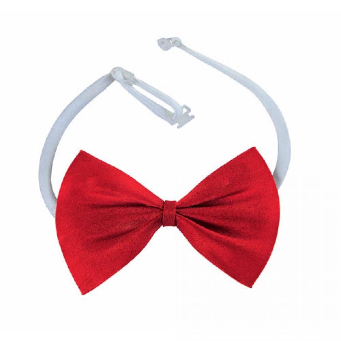 Descriptif noeud papillon tissu rouge - Noeud papillon rouge enfant ...