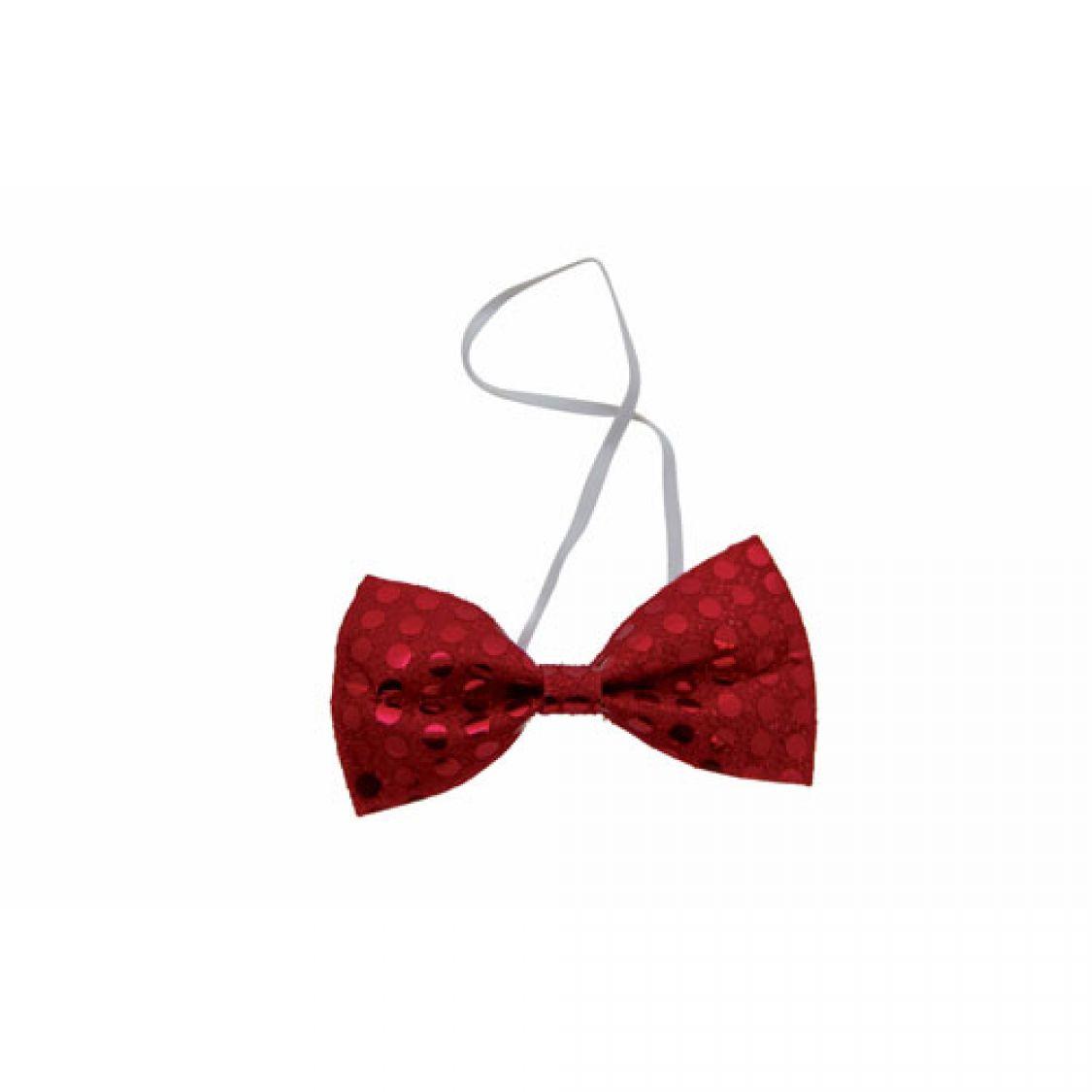 Descriptif noeud papillon sequins rouge - Noeud papillon rouge enfant ...