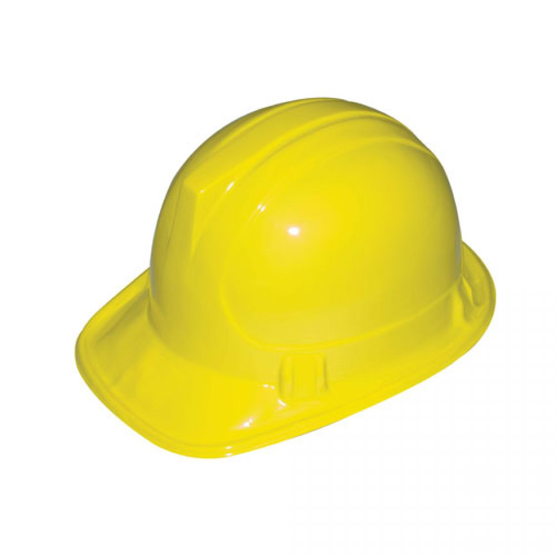 descriptif du casque de chantier jaune