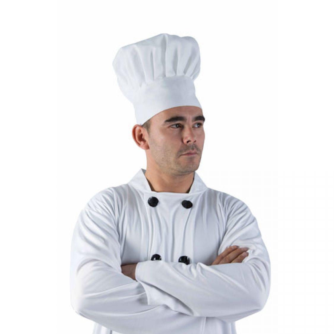 Descriptif de la toque de cuisinier en tissu - Image toque cuisinier ...