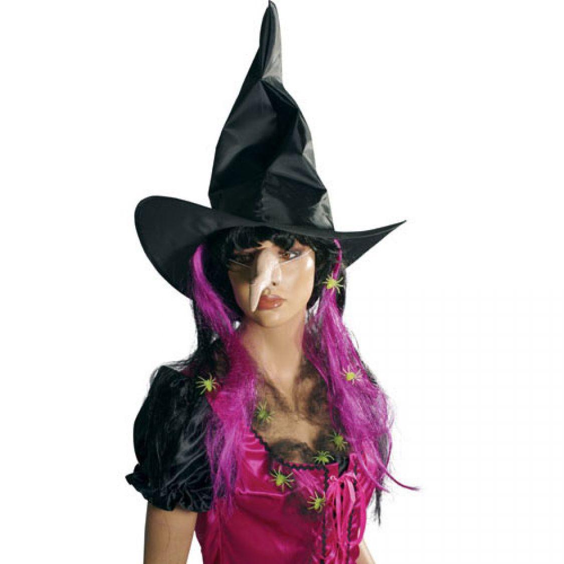 chapeau sorci re adulte tissu pour les d guisements d 39 halloween. Black Bedroom Furniture Sets. Home Design Ideas