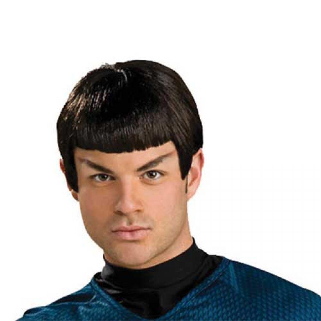 perruque spock star trek adulte. Black Bedroom Furniture Sets. Home Design Ideas