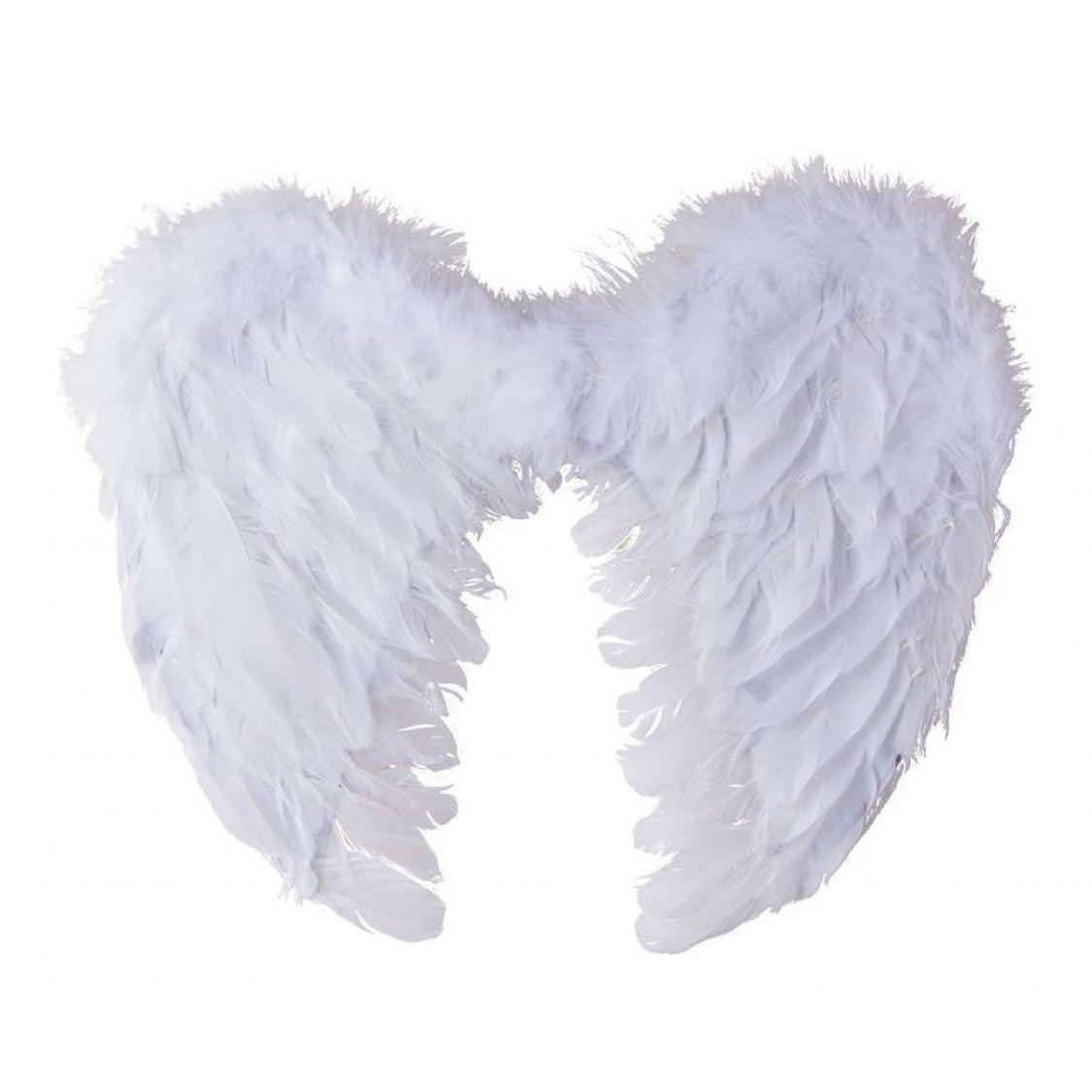 ailes d 39 anges blanches pour d guisements d 39 halloween. Black Bedroom Furniture Sets. Home Design Ideas