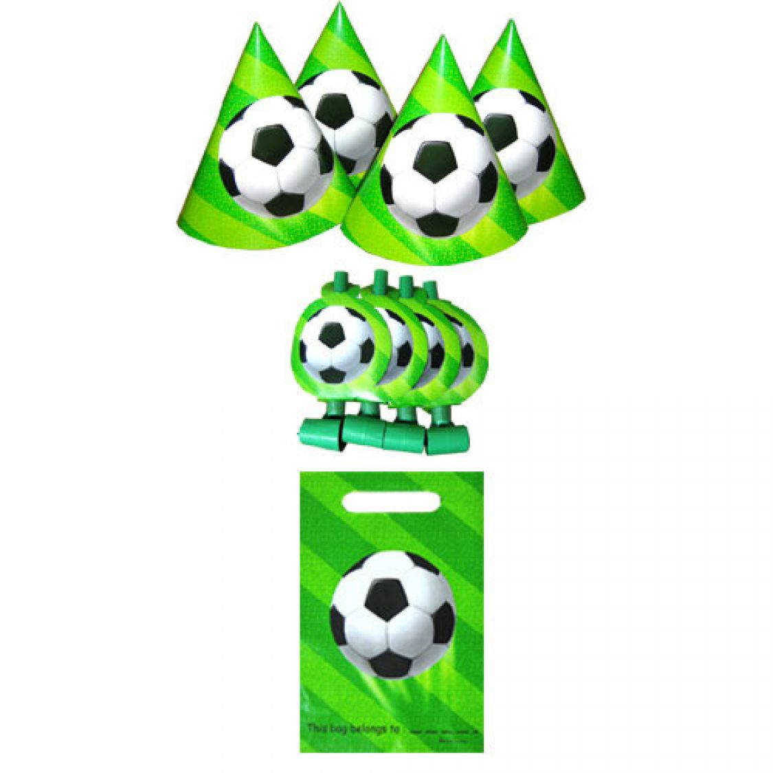 kit go ter anniversaire football 4 personnes. Black Bedroom Furniture Sets. Home Design Ideas