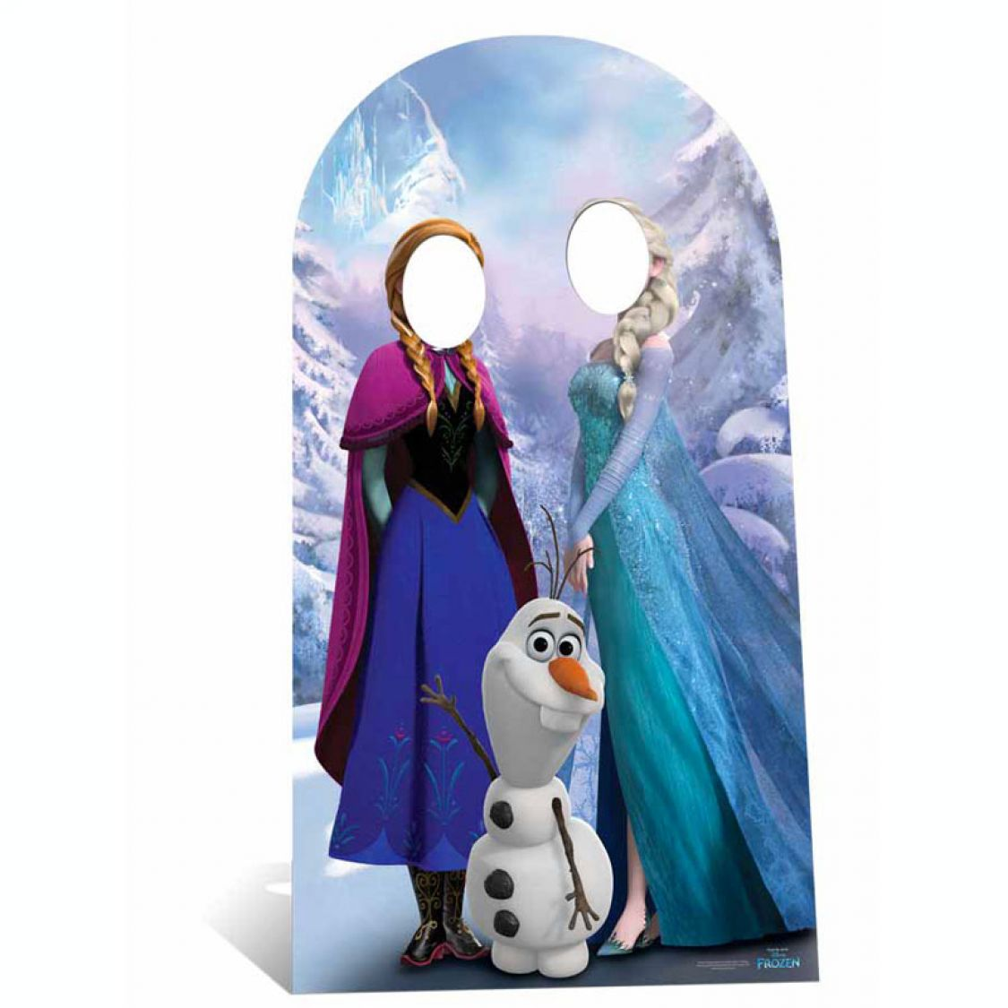 figurine passe t te reine des neiges adulte. Black Bedroom Furniture Sets. Home Design Ideas