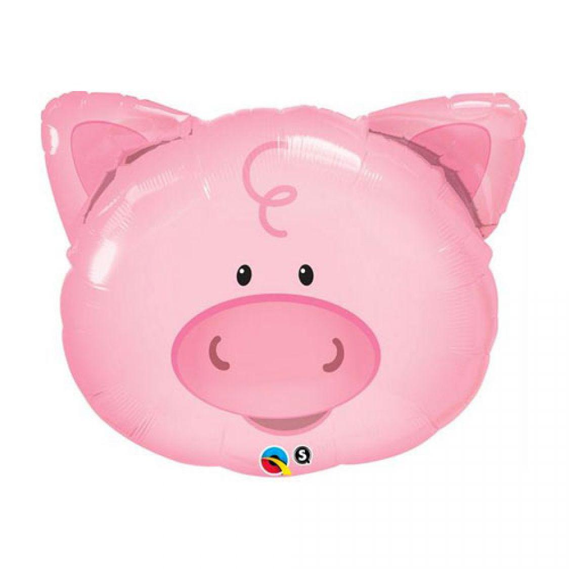 Ballon t te de cochon - Tete de cochon a colorier ...