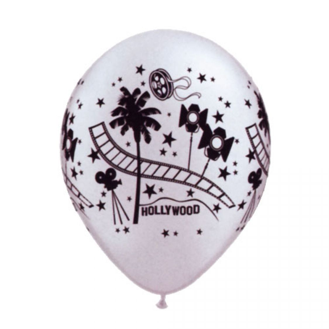 Ballon Hollywood Stars qualatex