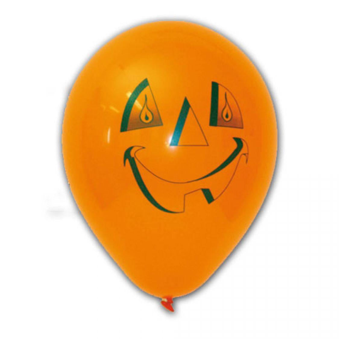 Ballon halloween t te de citrouille - Tete de citrouille ...