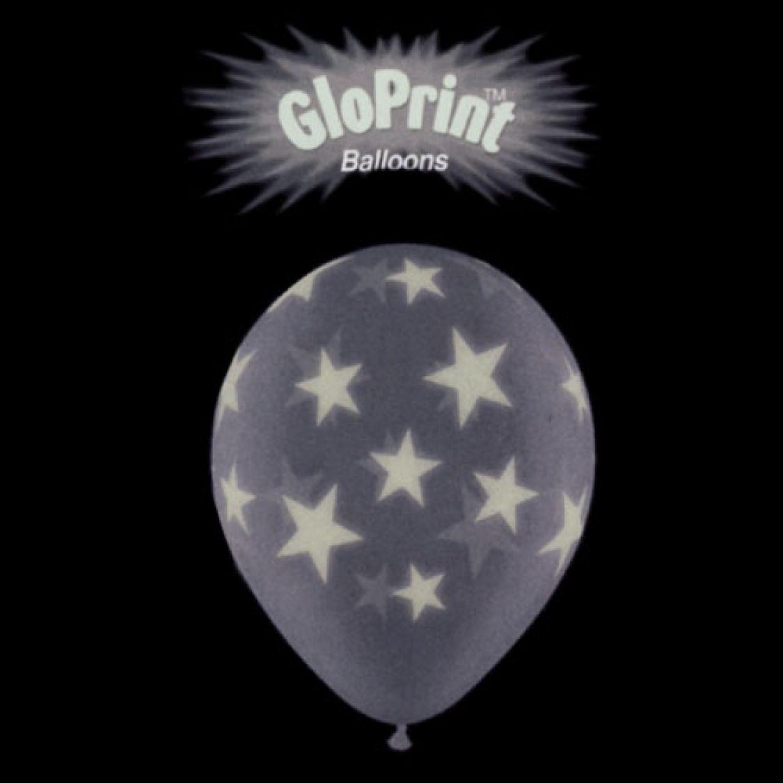 ballon phosphorescent etoile autour - Ballon Phosphorescent Mariage