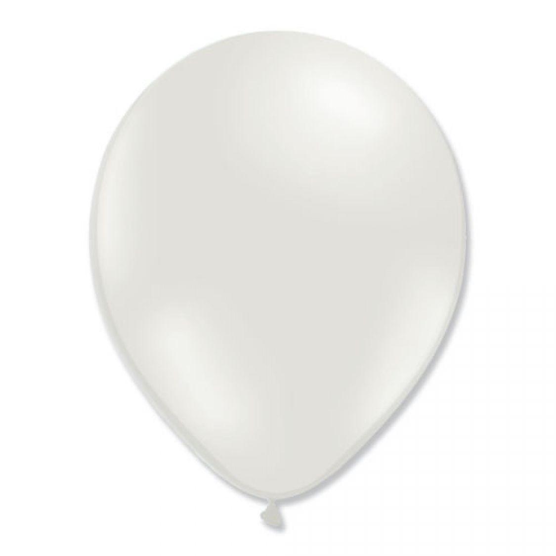 Ballon Blanc A Decorer