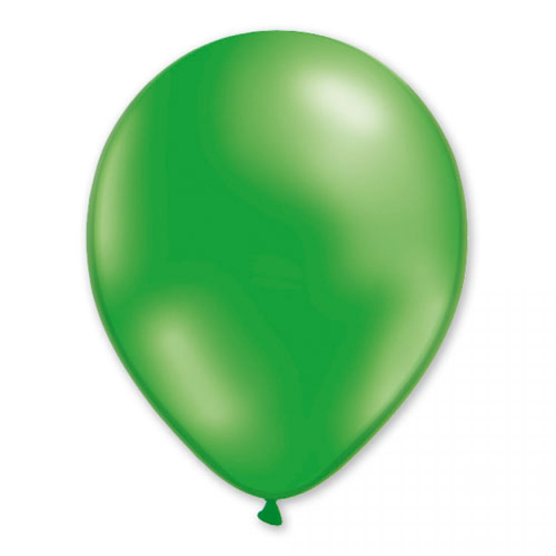 Ballon Vert Metal Latex