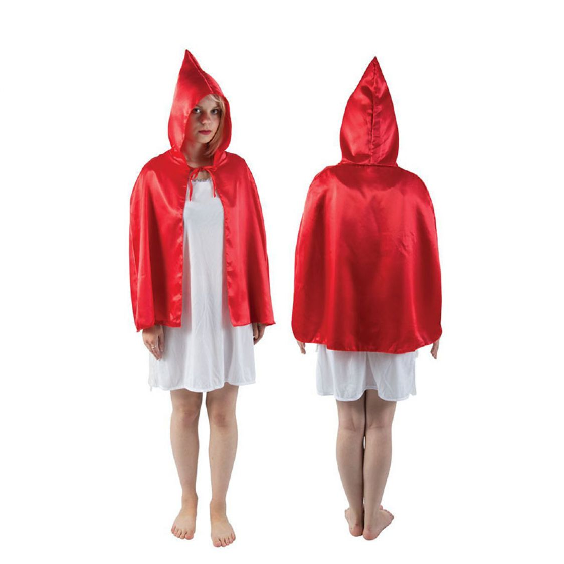 descriptif cape tissu avec capuche 39 petit chaperon rouge 39. Black Bedroom Furniture Sets. Home Design Ideas