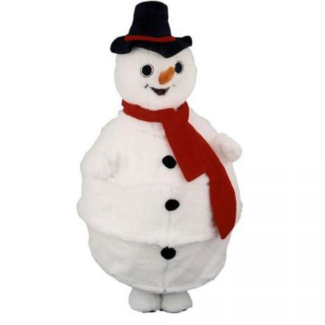 D guisement mascotte bonhomme de neige - Bonhomme de neige polystyrene ...