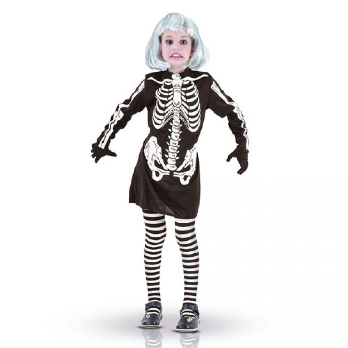 d guisement enfant robe squelette pour d guisements d. Black Bedroom Furniture Sets. Home Design Ideas