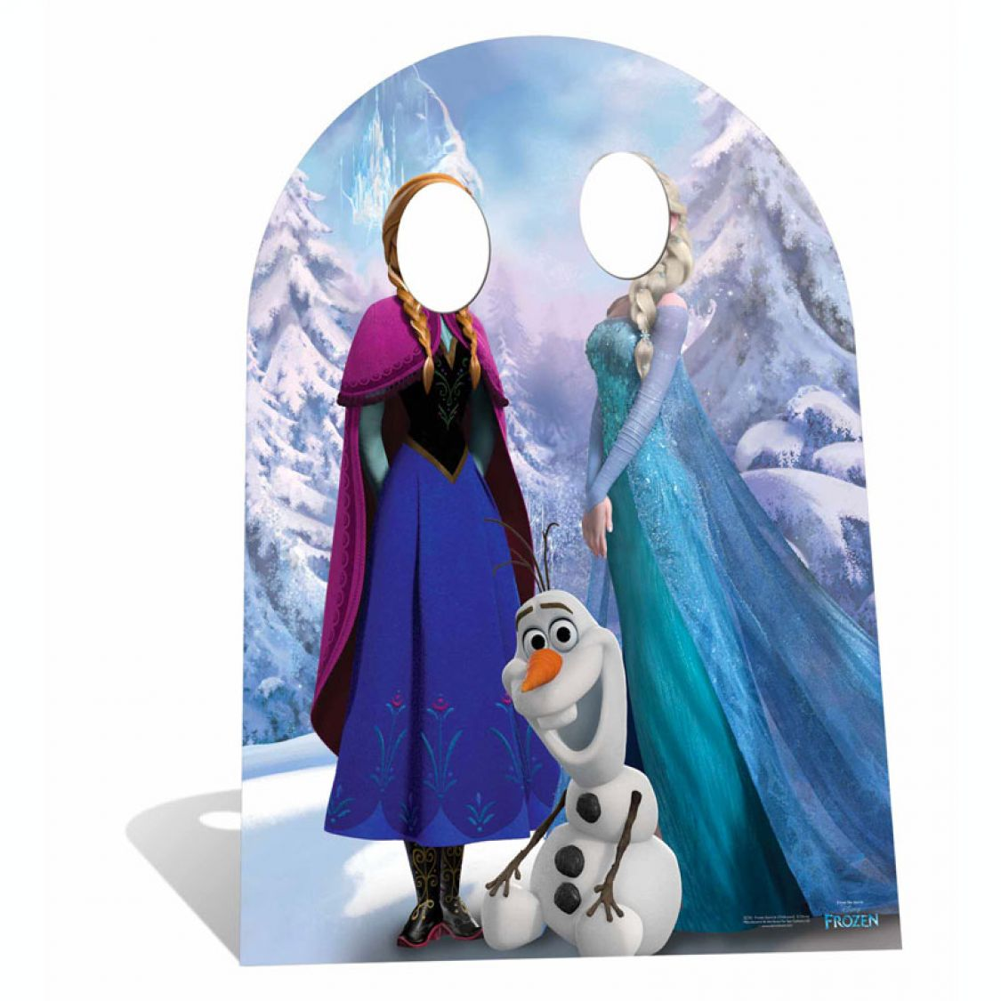 figurine passe t te reine des neiges enfant. Black Bedroom Furniture Sets. Home Design Ideas