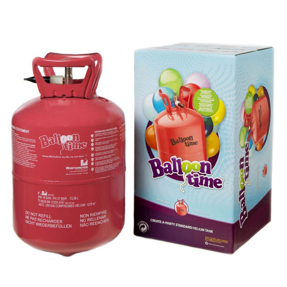 Bouteille d 39 helium jetable 30 ballons - Gonfler ballon sans helium ...