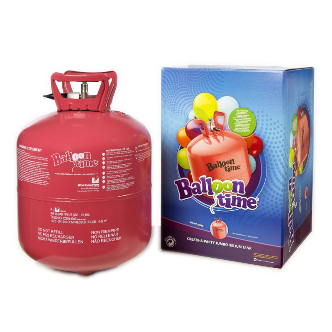 bouteille helium jetable  ballons