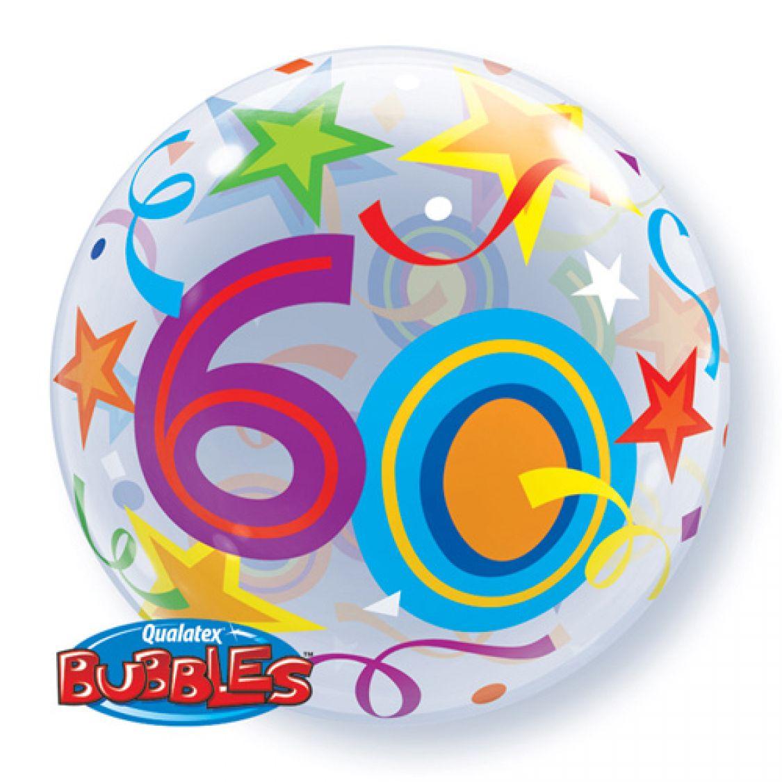 Ballon bubble chiffre 60 anniversaire - Clipart anniversaire 60 ans ...