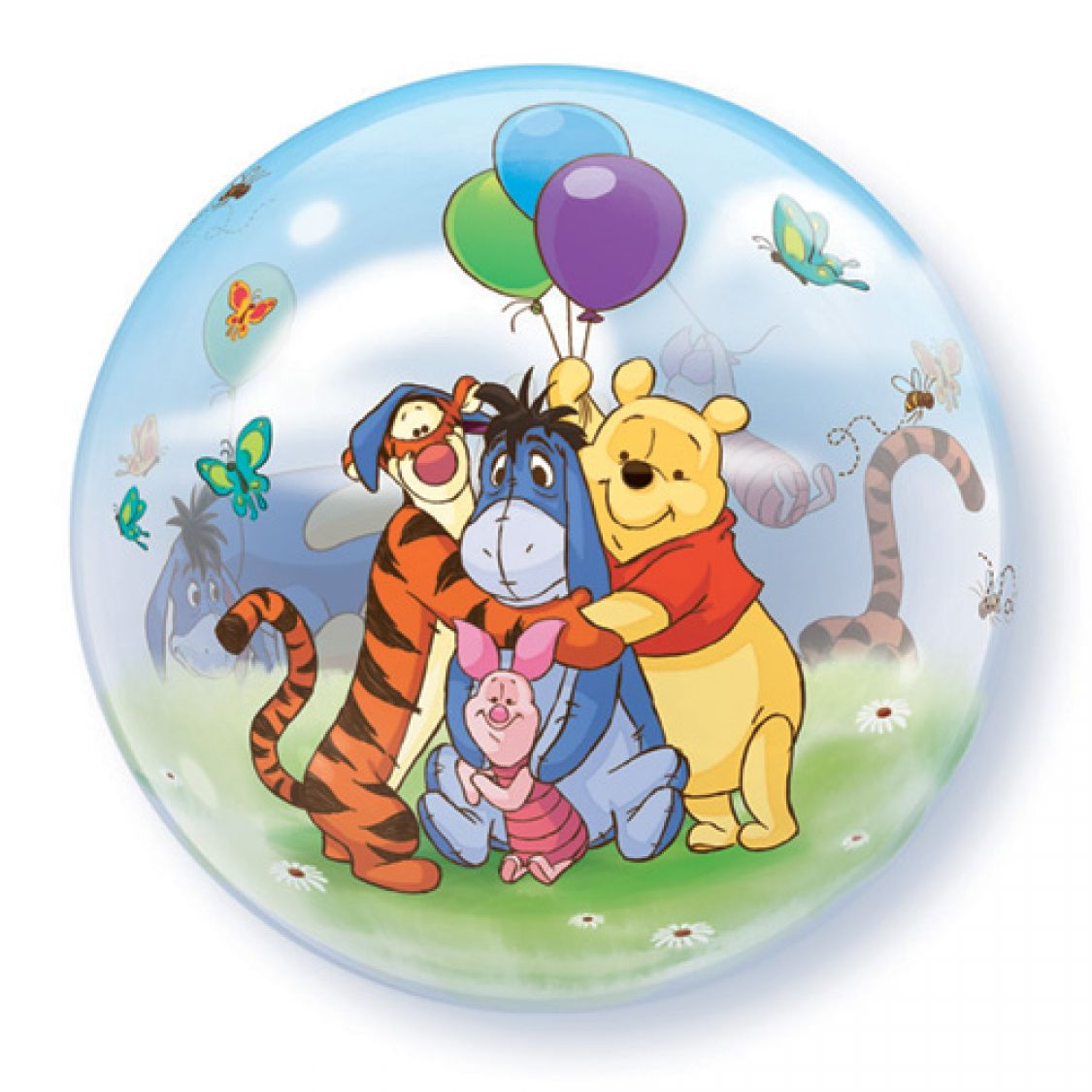 Ballon bubble winnie l 39 ourson for Piscine winnie l ourson