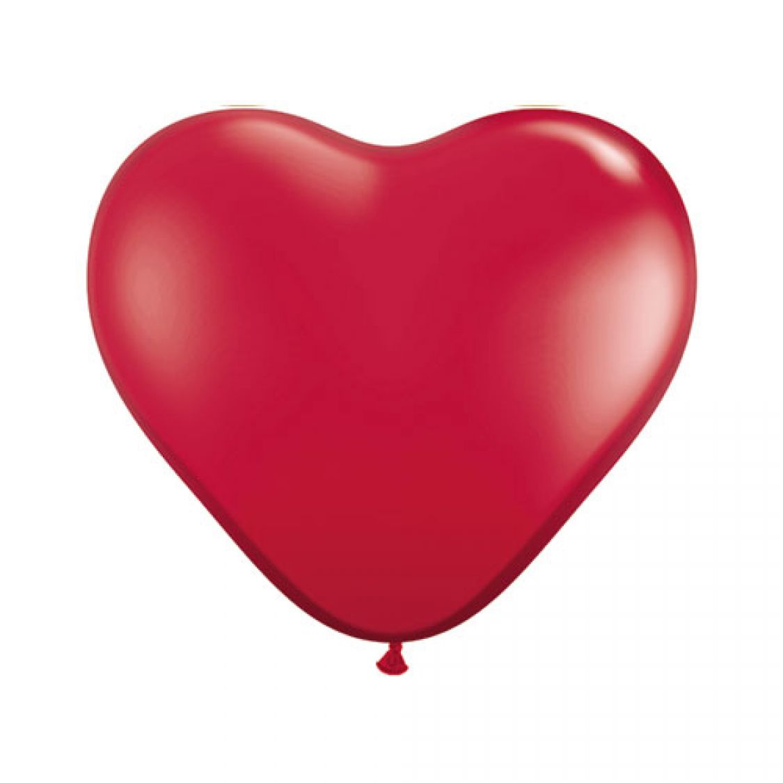 Ballon Coeur Rouge Rubis(Ruby Red)