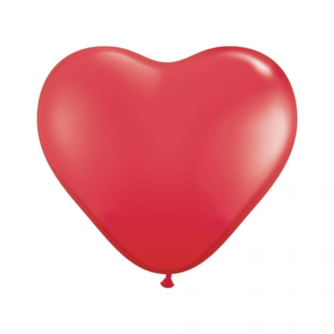 Ballon Coeur Rouge (Red)