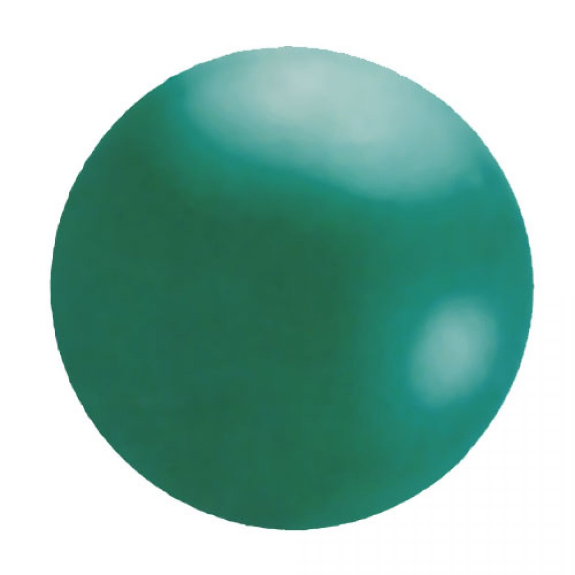 Ballon g ant vert green for Latex muurverf exterieur