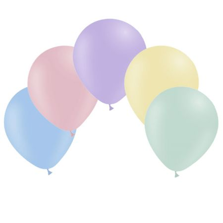 Ballon Assortiment pastel mat