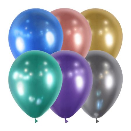 Ballon Assortiment Brillant Chrome