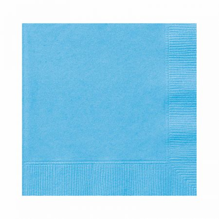 Serviette de table papier Bleu ciel