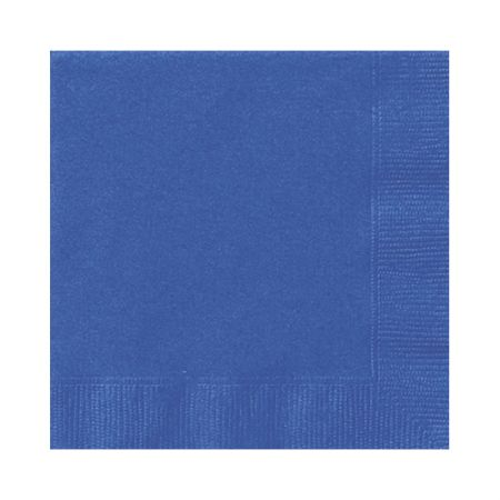 Serviette de table papier Bleu