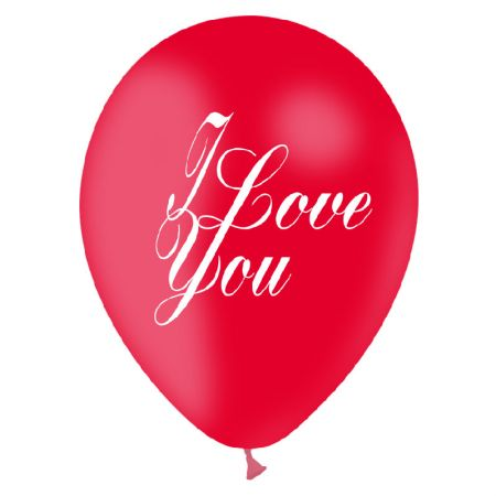 Ballon I love You Latex