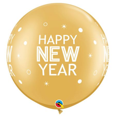 Ballon Géant Happy New Year par 2