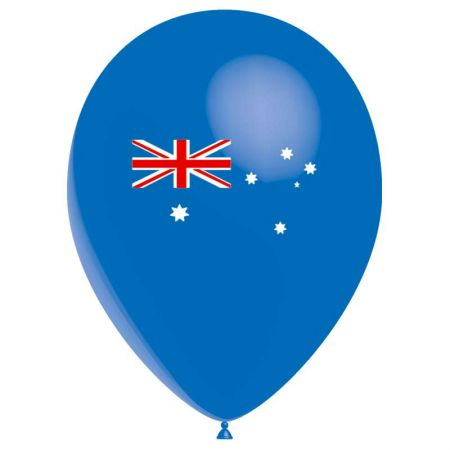 Ballon drapeau Australie (latex)