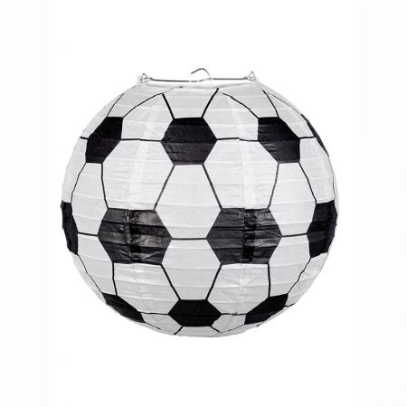 Lampion Ballon de Foot 25cm