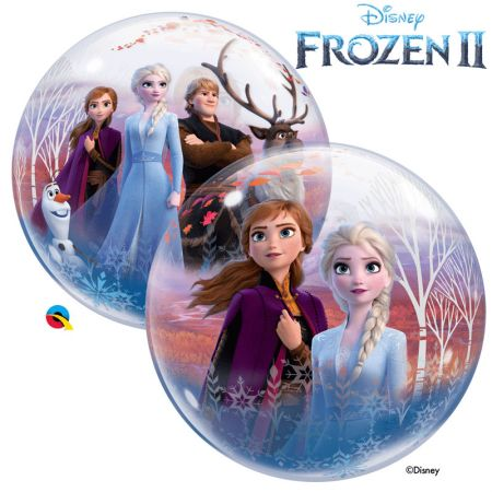 Ballon Reine des Neiges Bubble