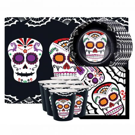 Kit Vaisselle Day of the Dead