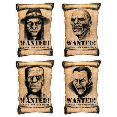 Affiches Wanted Halloween
