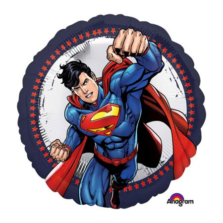 Ballon Superman Rond