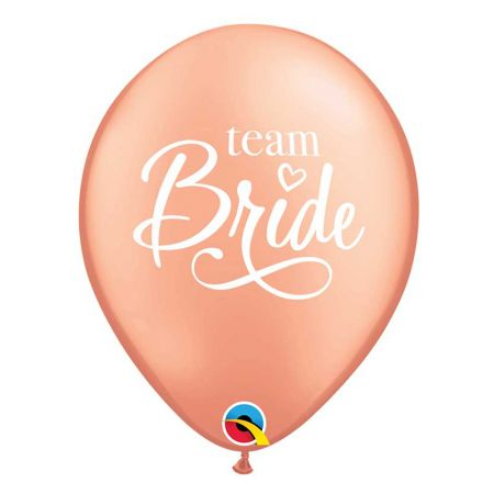 Ballon Team Bride Latex