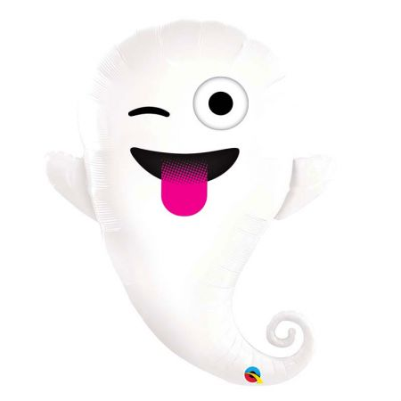 Ballon Halloween Fantome Emoticone