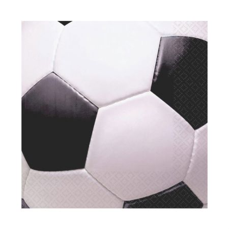 Serviette jetable Football